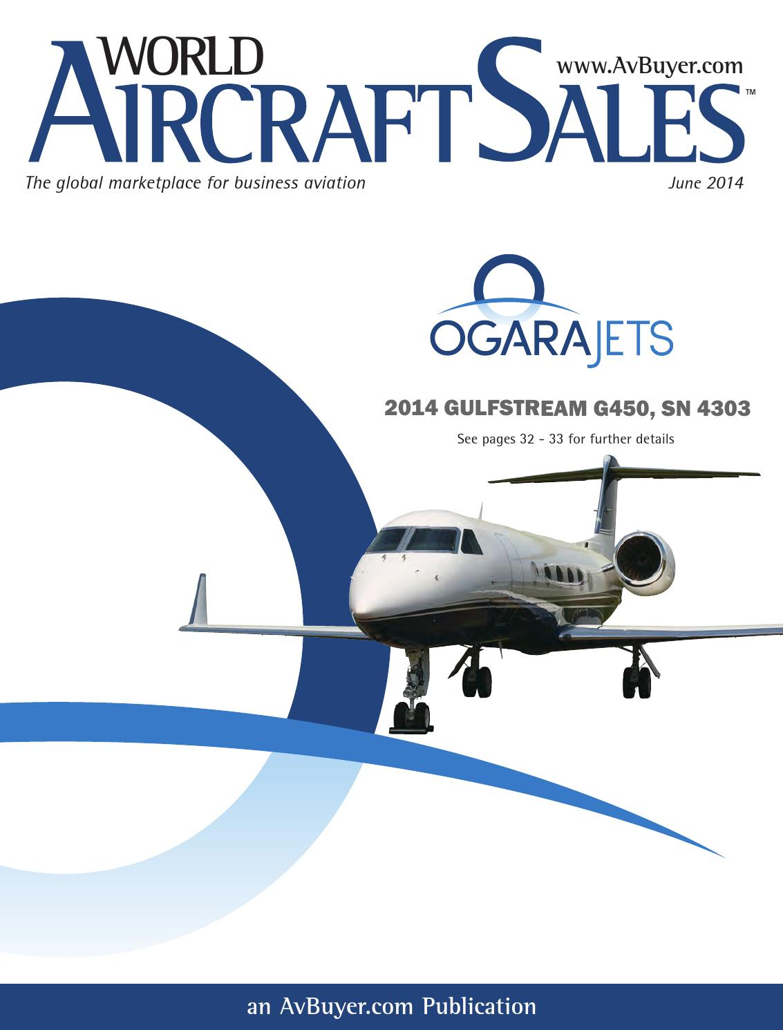 World Aircraft Sales Magazine June 2014 by AvBuyer Ltd  - issuu