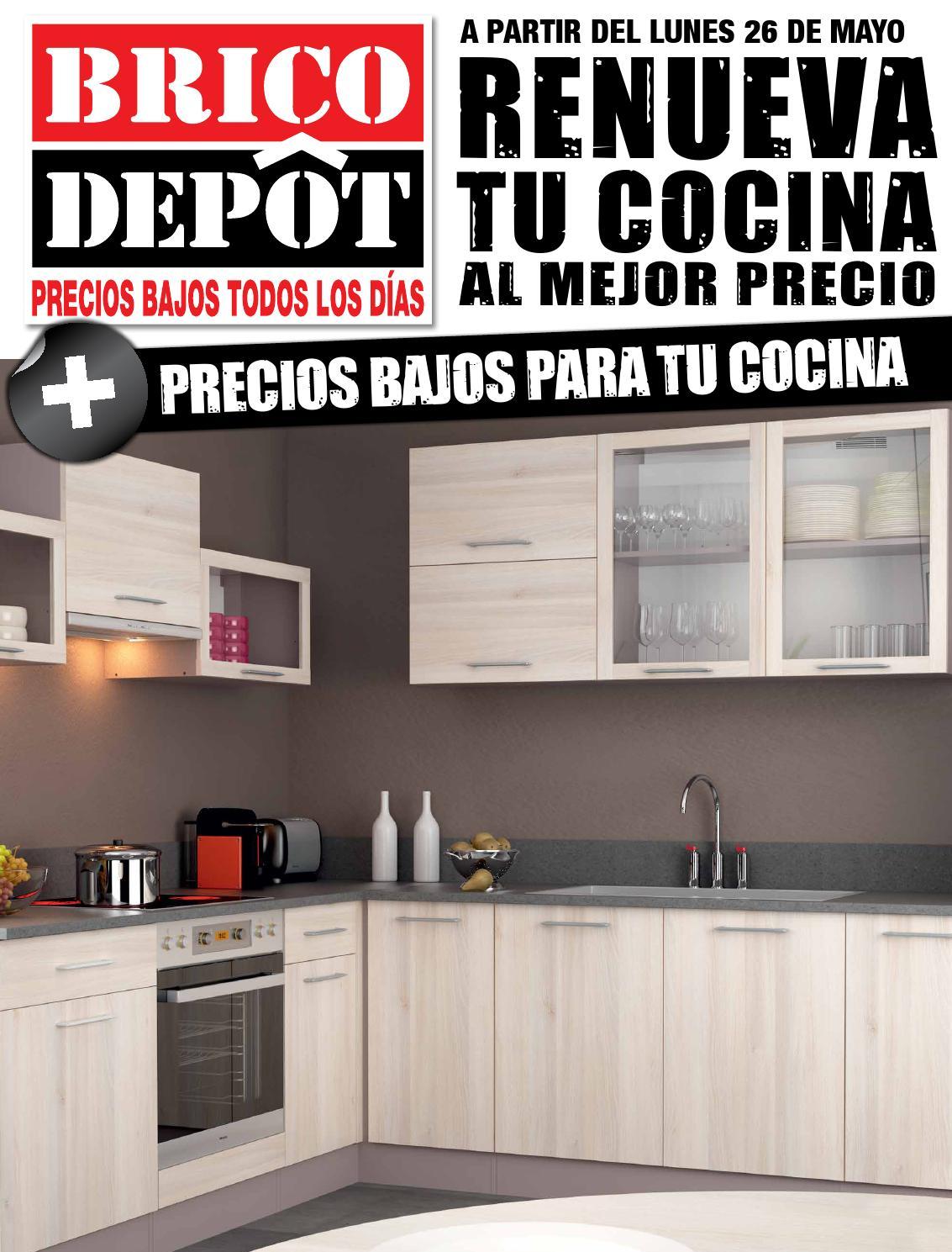 Muebles de cocina en brico depot for Encimera cocina bricomart