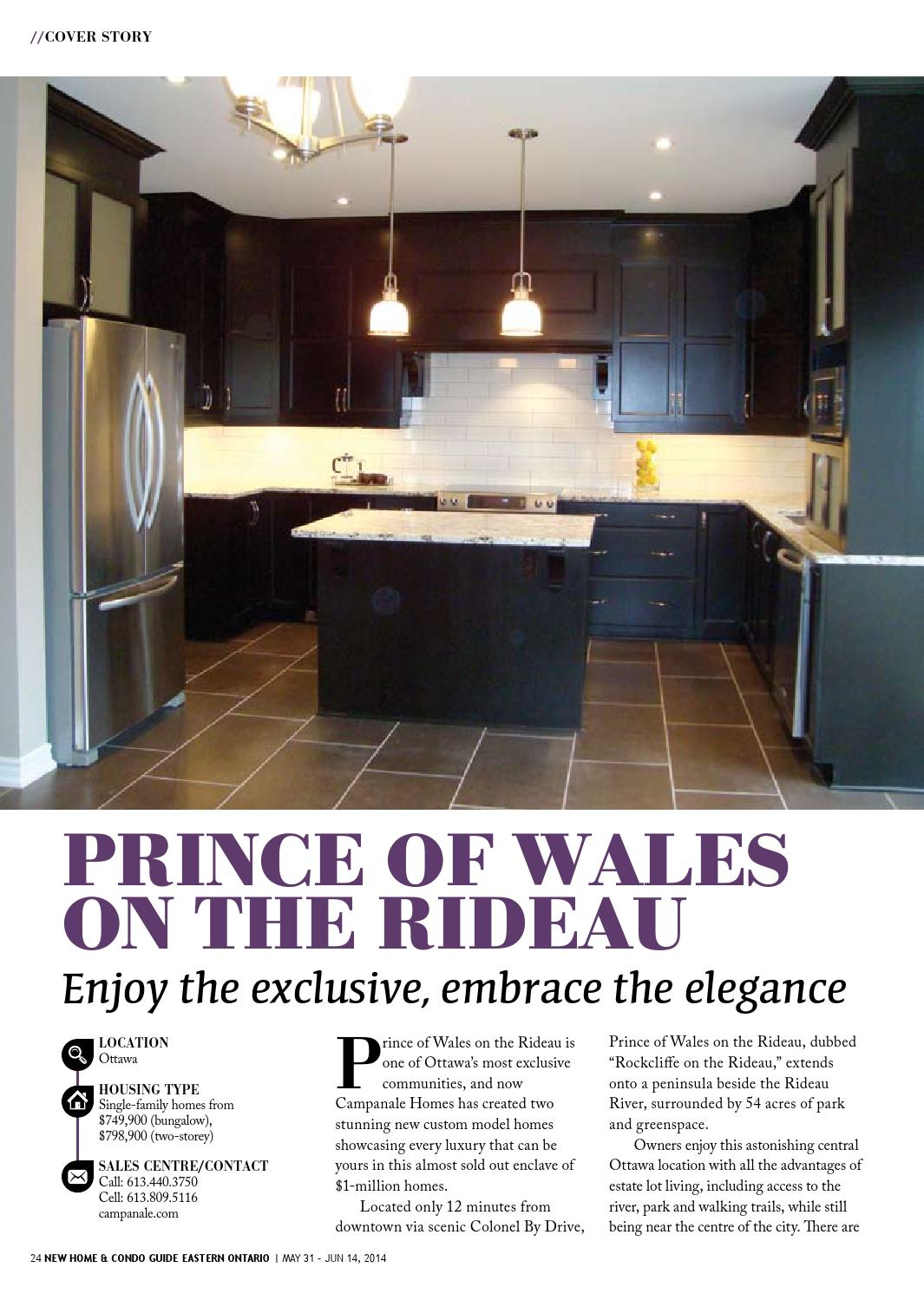 Eastern Ontario New Home & Condo Guide - May 31, 2014 by ...