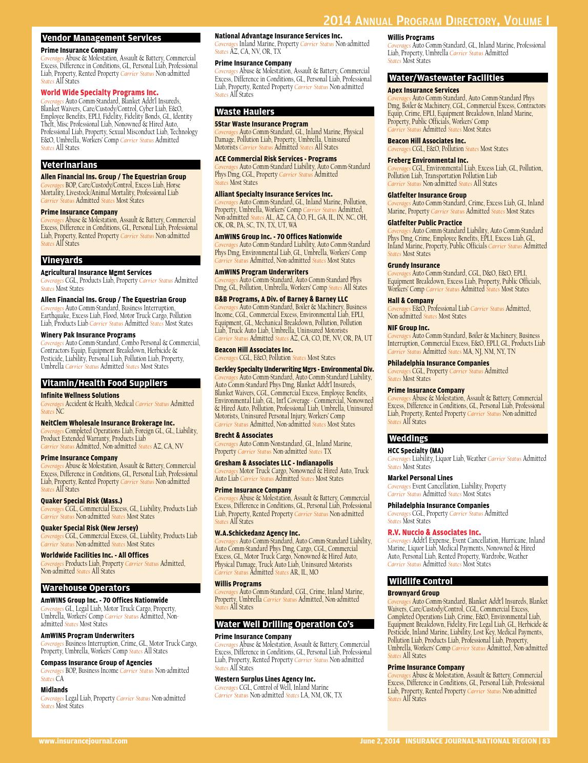 Insurance Journal West 2014 06 02 by Insurance Journal - issuu