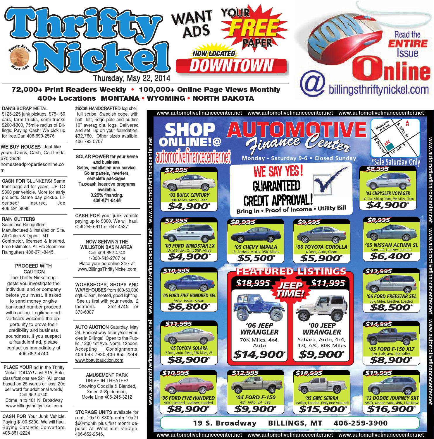 Thrifty Nickel May 22 By Billings Gazette Issuu Hd 4560 Wiring Harness Conversion