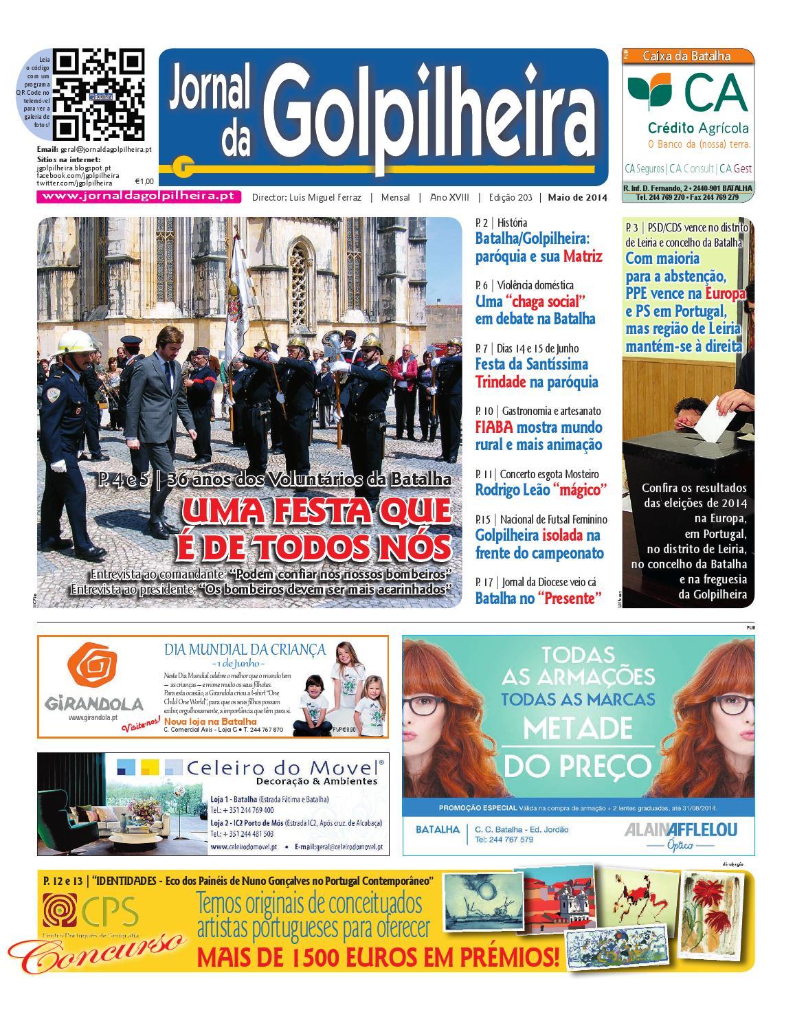 2405 Jornal da Golpilheira Maio 2014 by Jornal da Golpilheira - issuu 179354a3198