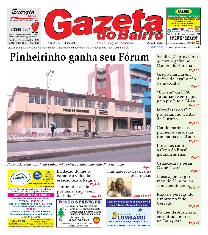 665fc4b8fce Gazeta do Bairro Maio 2014 by Gazeta do Bairro - issuu
