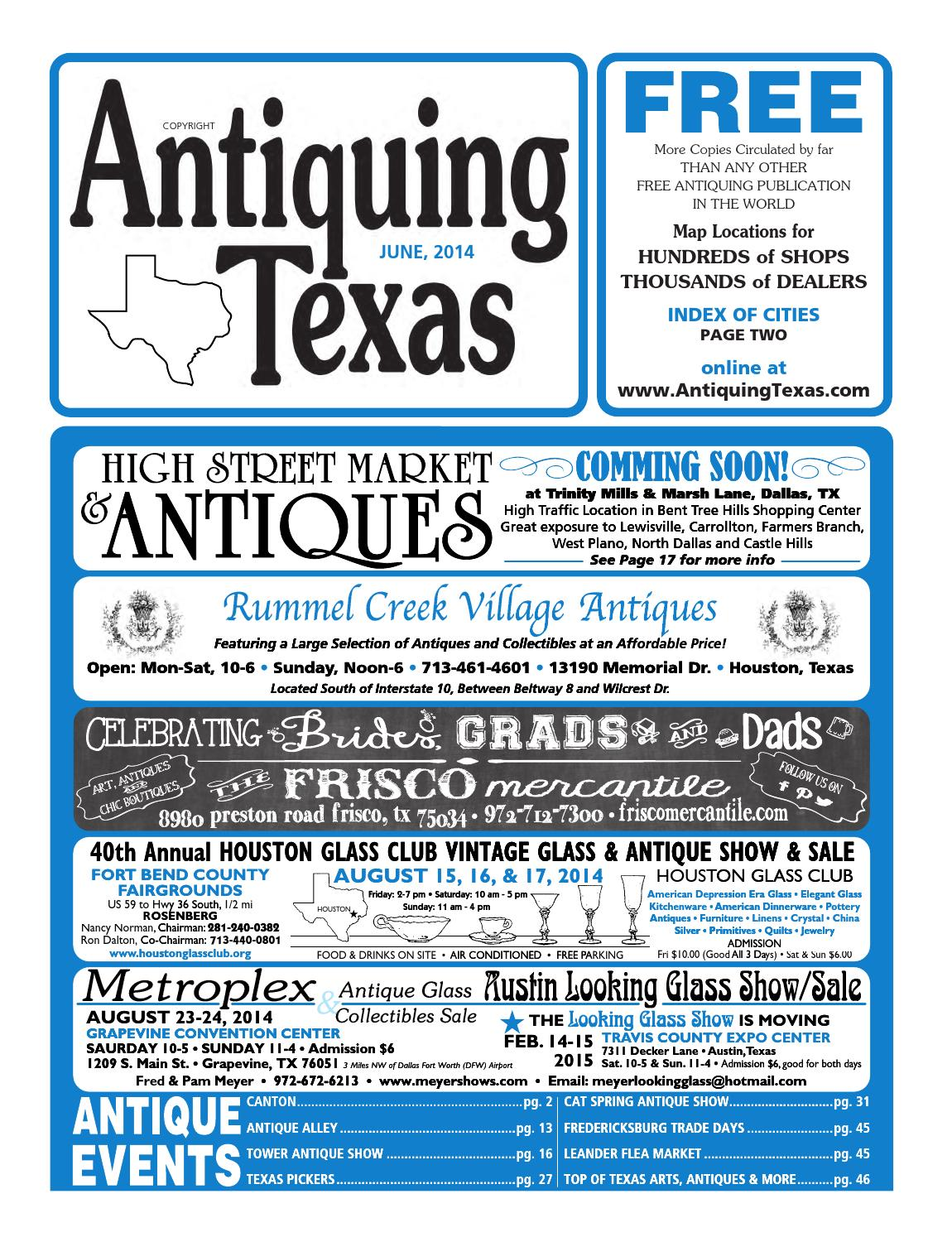 513ea3c7 Ant tx upload 6 14 by Antiquing Texas - issuu