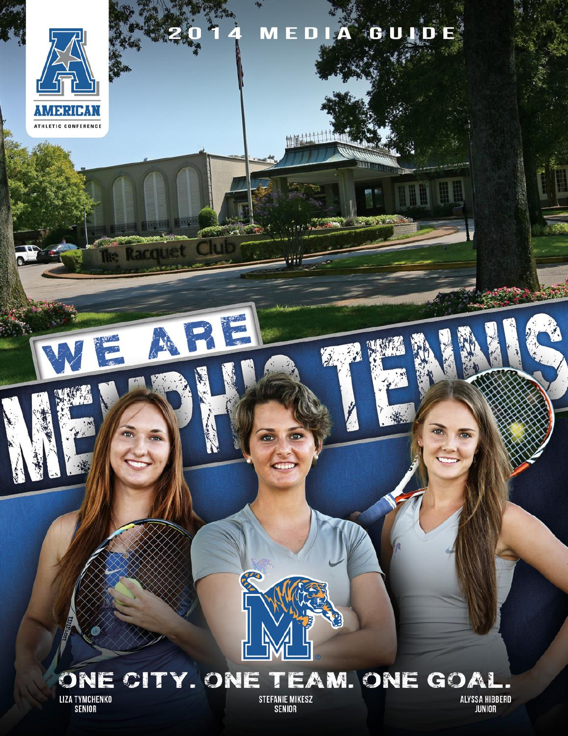2014 Memphis Women's Tennis Media Guide by University of ...