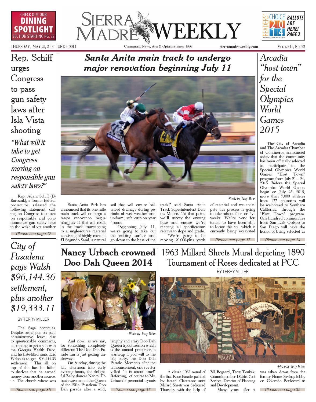 2014 05 29 Sierra Madre By Beacon Media Inc