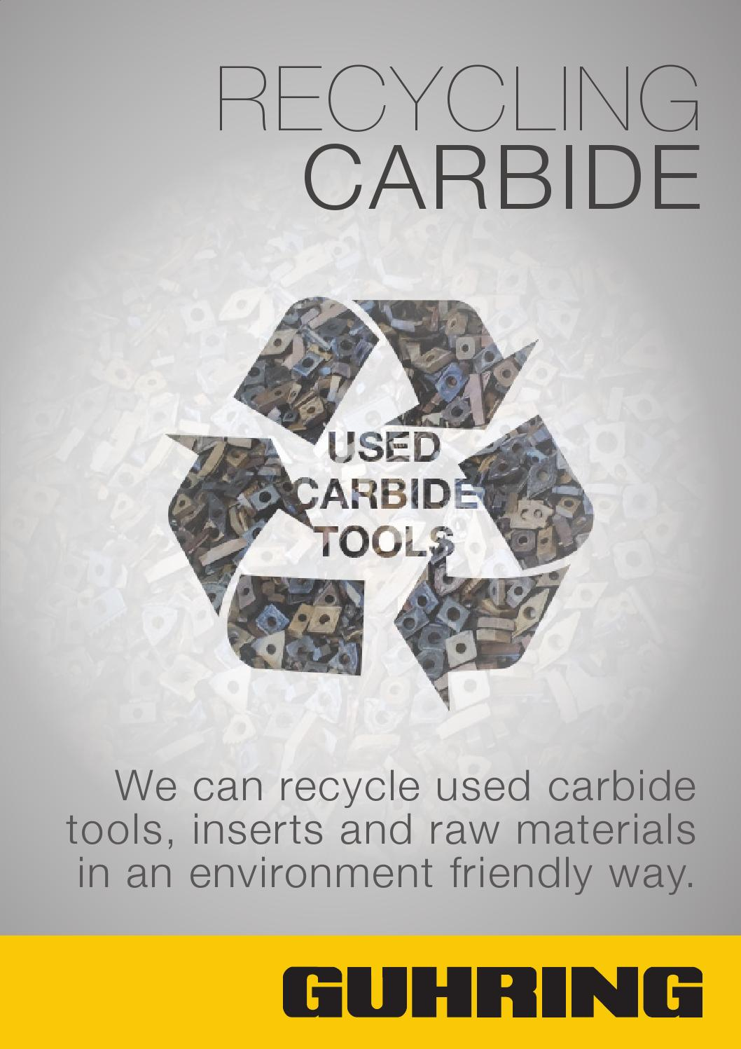 Guhring Recycling Carbide Application Form