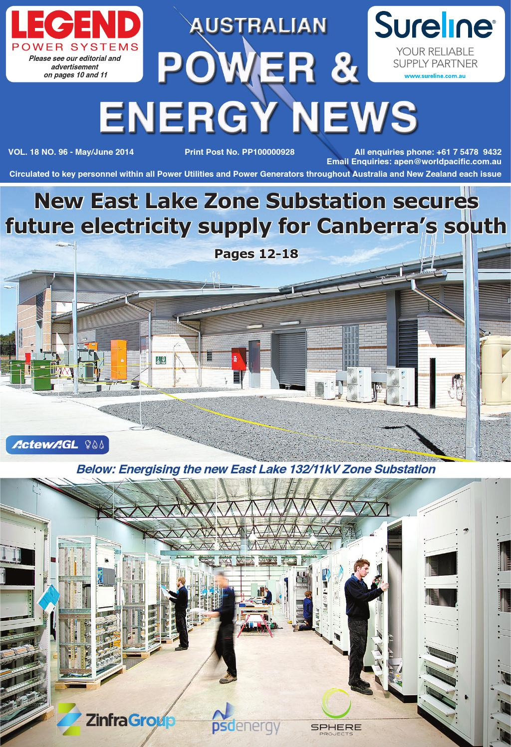 Australian Power And Energy News Vol18 No96 June2014 By Main Roads Construction Issuu
