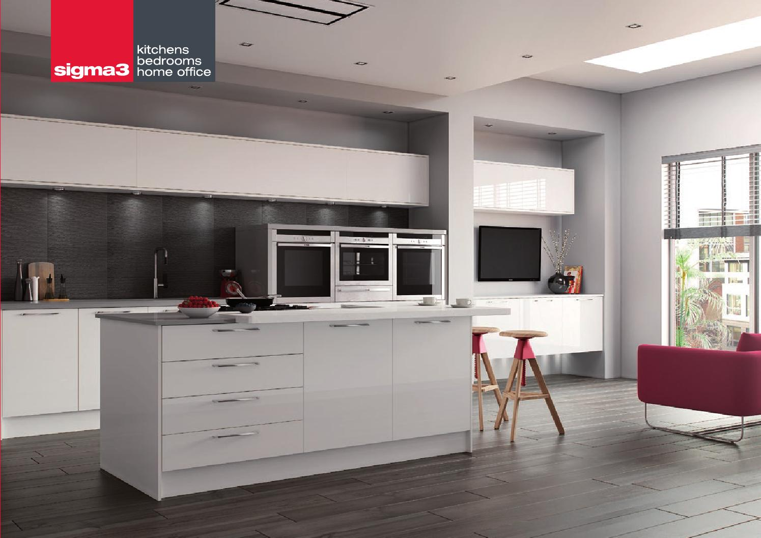 Sigma 3 Kitchens Brochure By S3kb Issuu