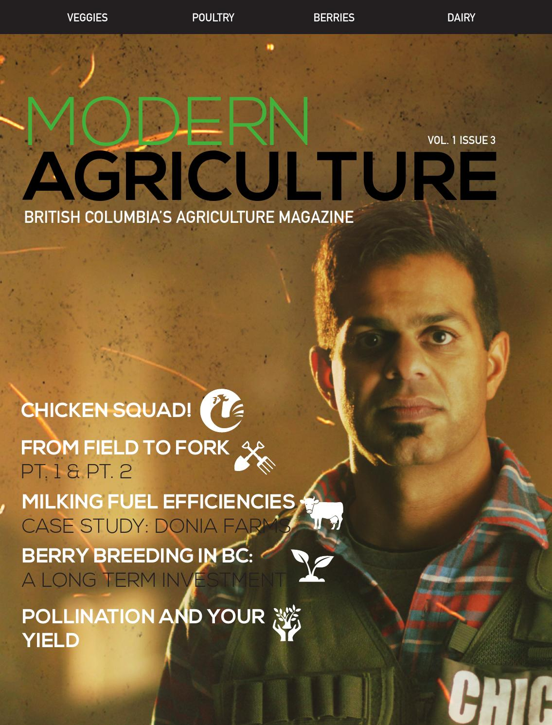Modern Agriculture Magazine Volume 1 Issue 3 by Modern Agriculture