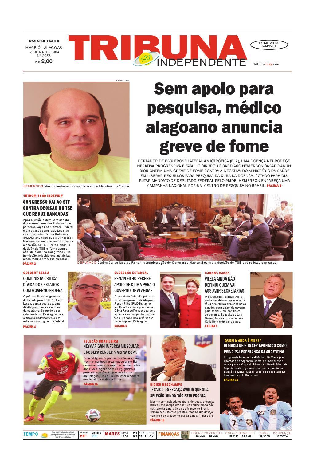 Edição número 2056 - 29 de maio de 2014 by Tribuna Hoje - issuu 47f948ce318a5