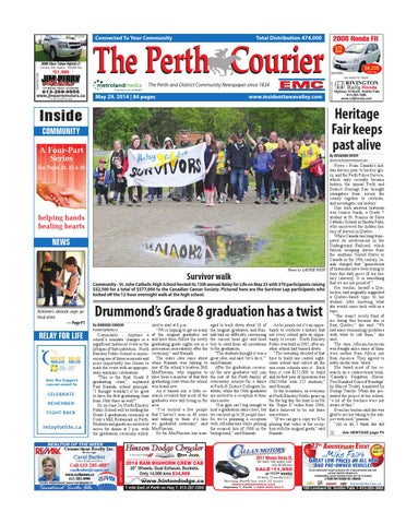 Perth052914 by metroland east the perth courier issuu page 1 fandeluxe Gallery