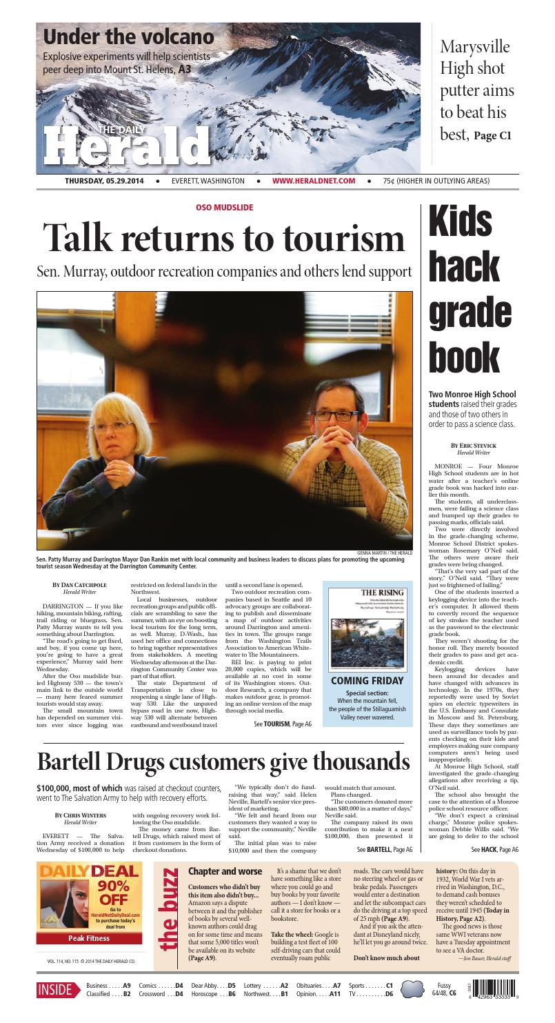 Everett Daily Herald, May 29, 2014 by Sound Publishing - issuu