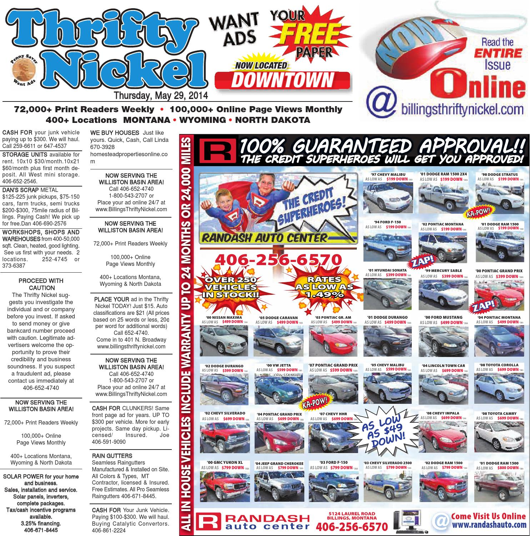 thrifty nickel may 29 by billings gazette issuu