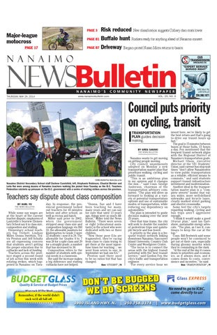 Nanaimo News Bulletin, May 29, 2014 by Black Press - issuu