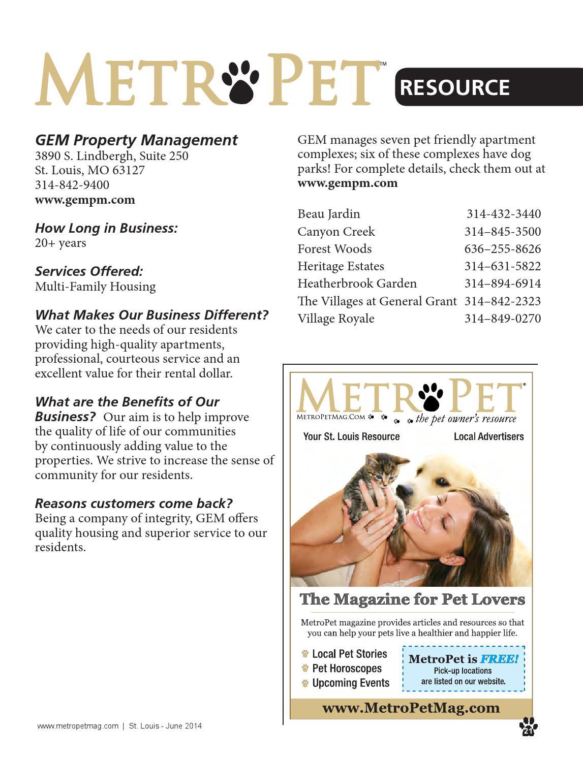 Metropet stl june14 web by ROI Marketing - issuu
