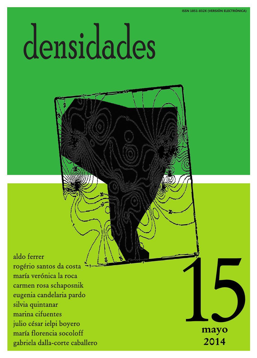 Densidades n°15 by Revista Densidades - issuu