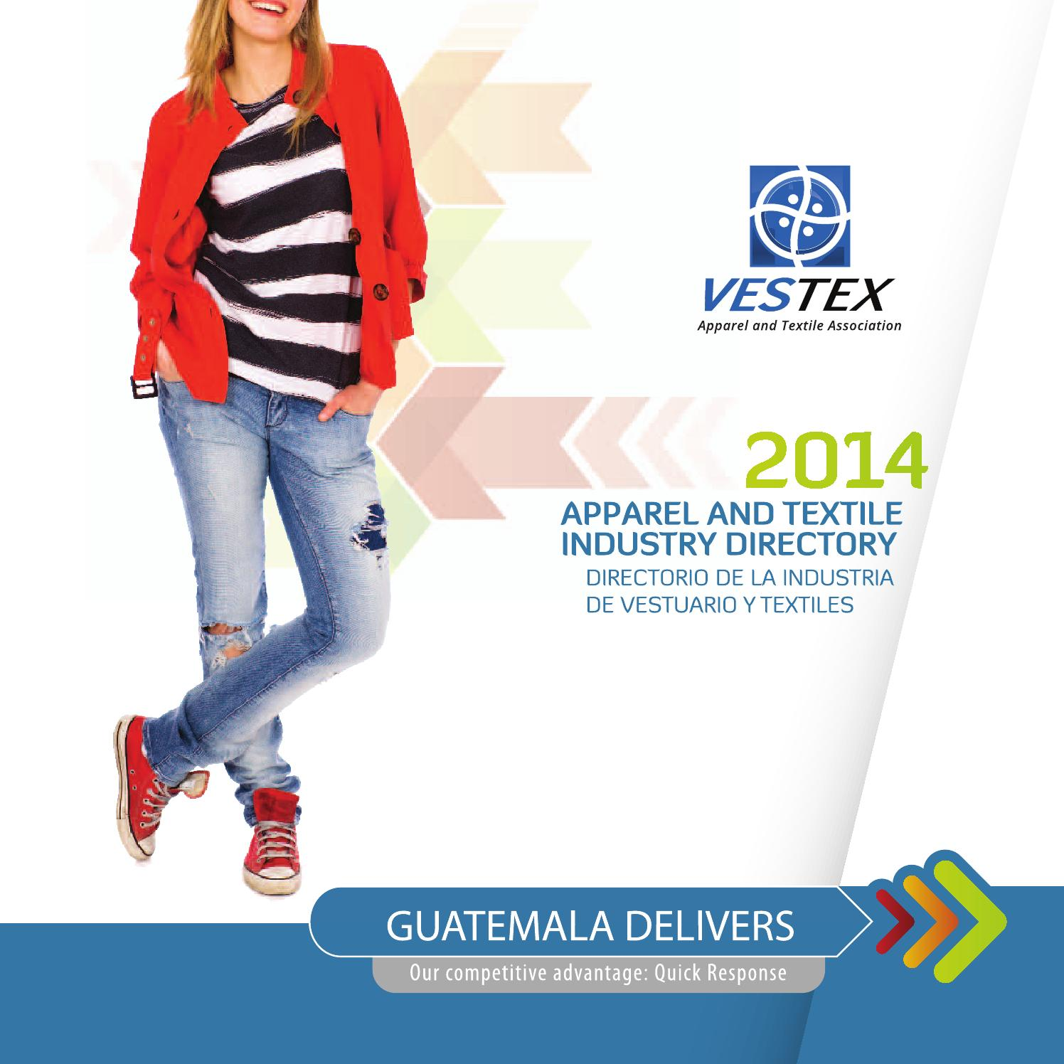 Apparel and textile industry directory 2014 by Maite Aguilar - issuu