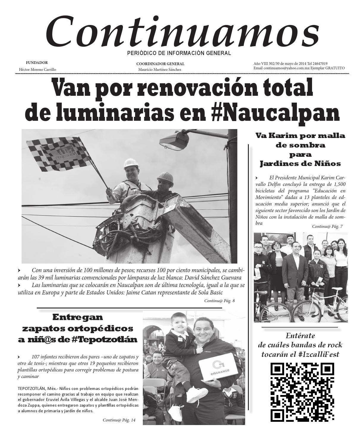 Impreso302continuamos by ContinuamosMx - issuu