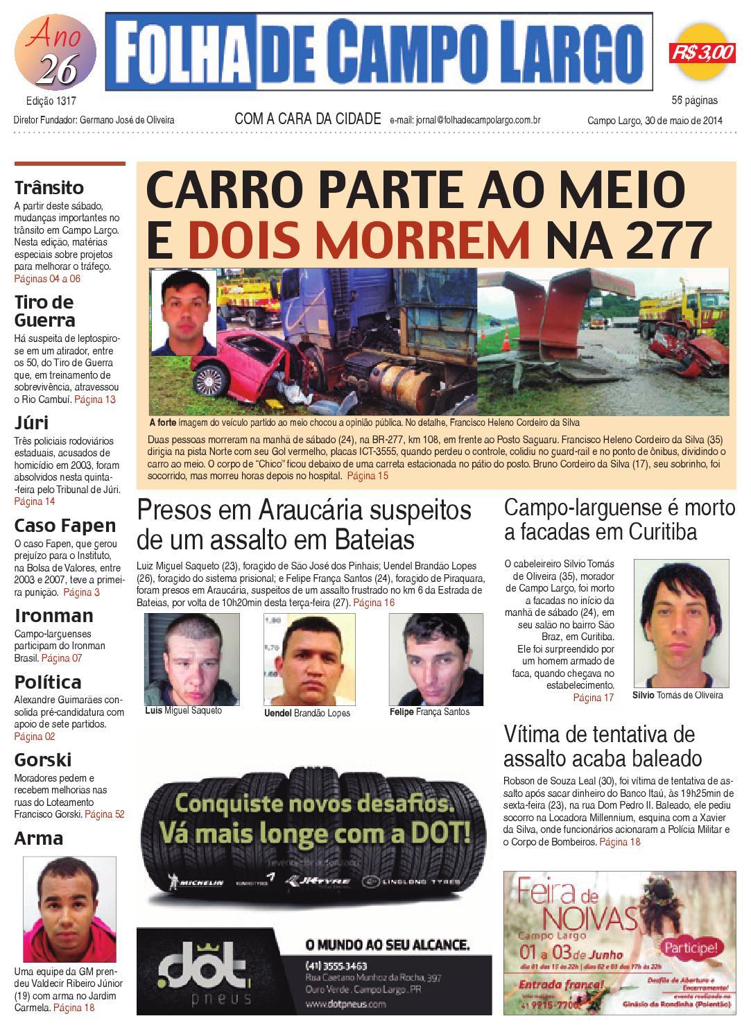 Folha de Campo Largo by Folha de Campo Largo - issuu c17009fa5a