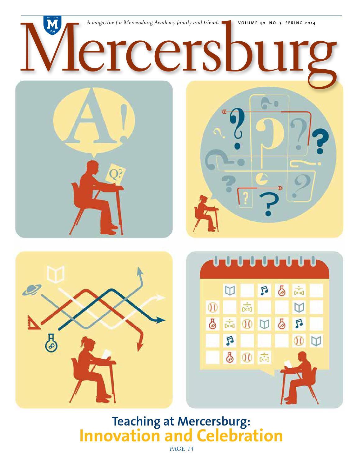 Mercersburg magazine spring 2014 by mercersburg academy issuu fandeluxe Image collections