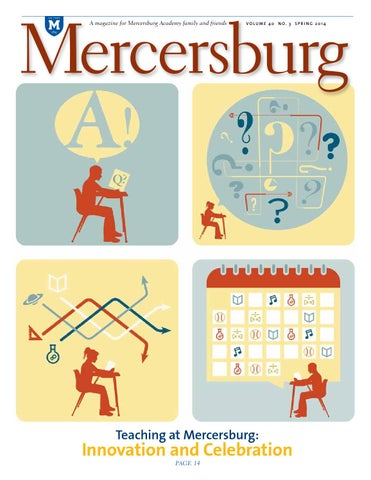 Mercersburg magazine spring 2014 by mercersburg academy issuu page 1 fandeluxe Image collections