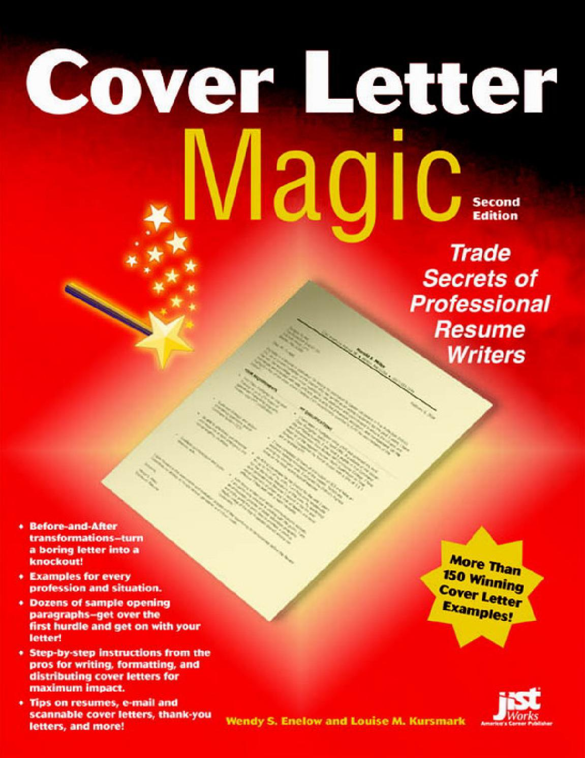 cover letter magic by nicolae s