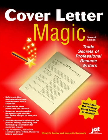 Cover Letter Magic By Nicolae S   Issuu