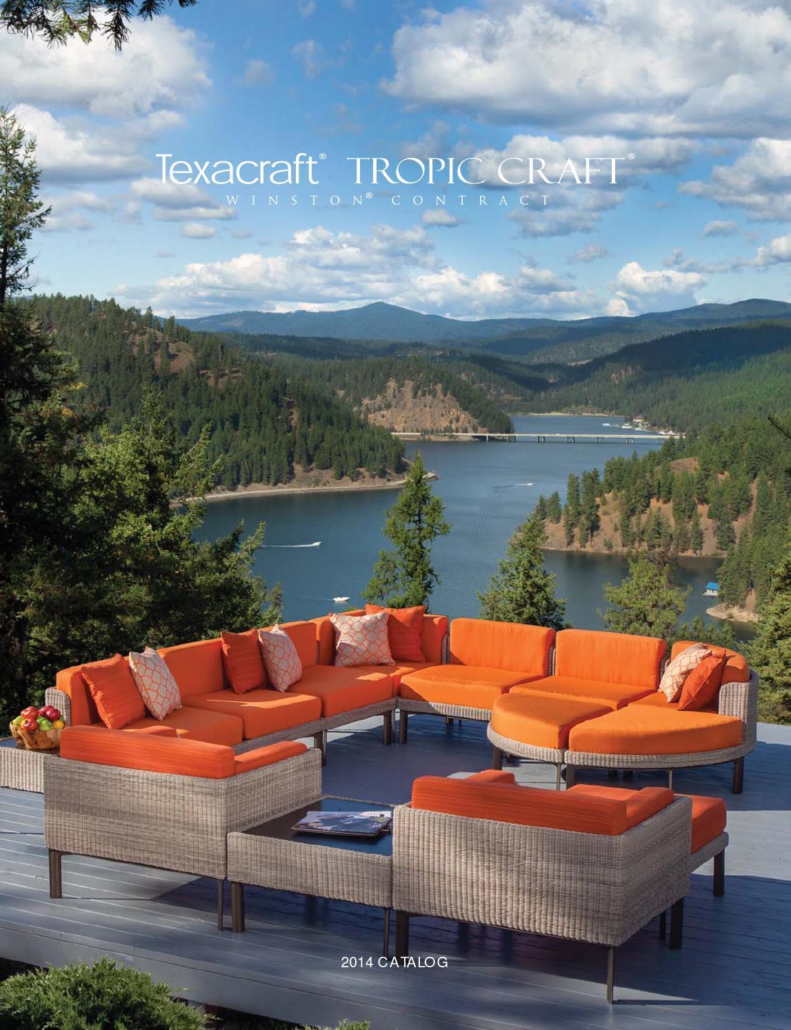 2014 TexacraftR Tropic CraftR WinstonR Contract Furniture By Winston