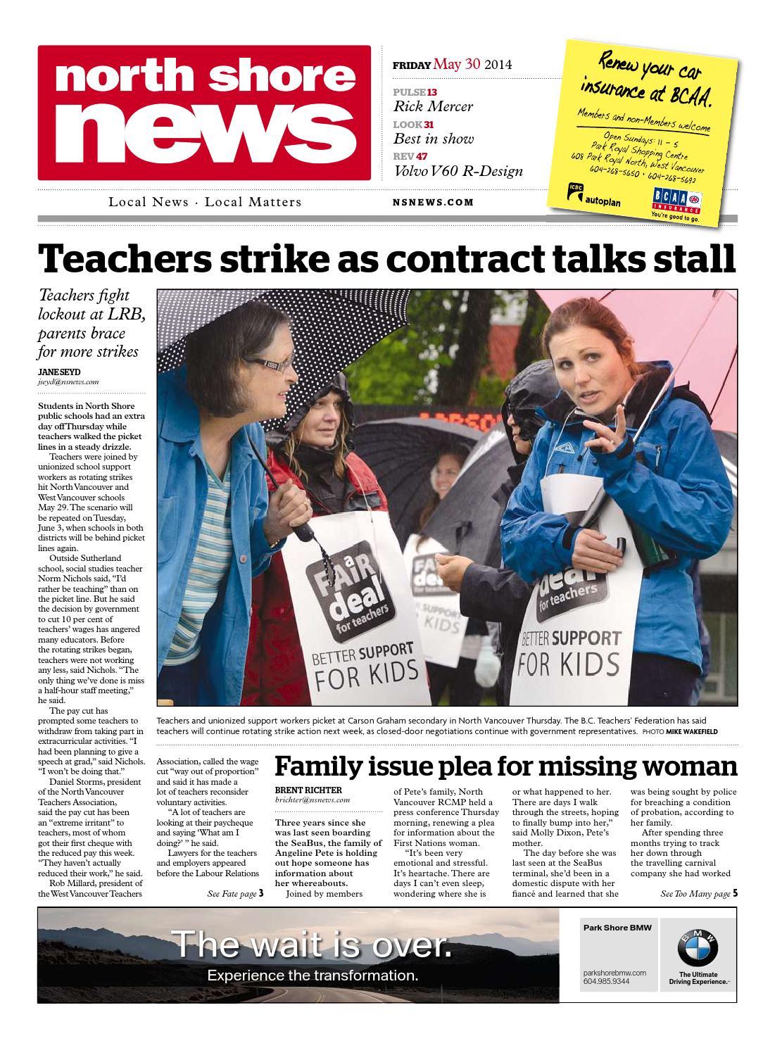 a130cb85bc North Shore News May 30 2014 by North Shore News - issuu