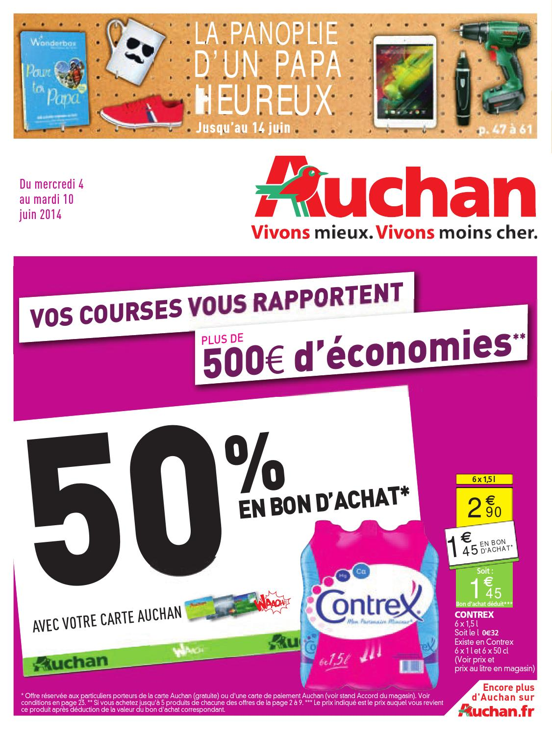 Catalogue Auchan du 4 au 10 juin by Anti-Crise.fr - issuu