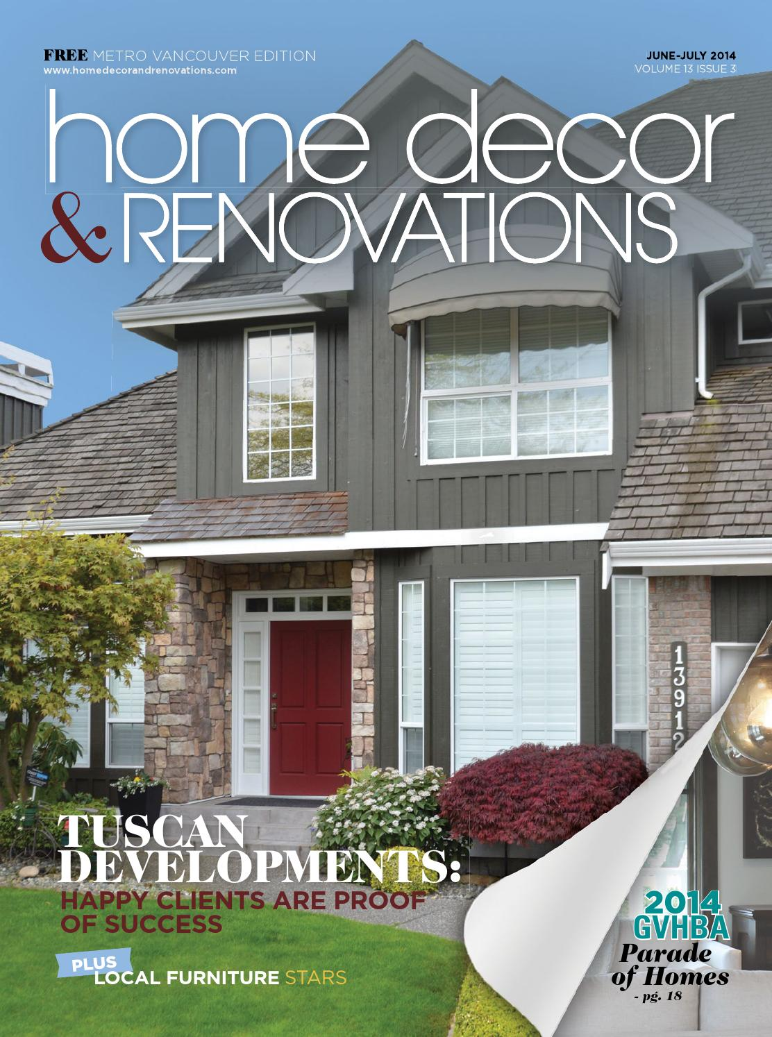 vancouver home decor amp renovations   jun jul 2014 by