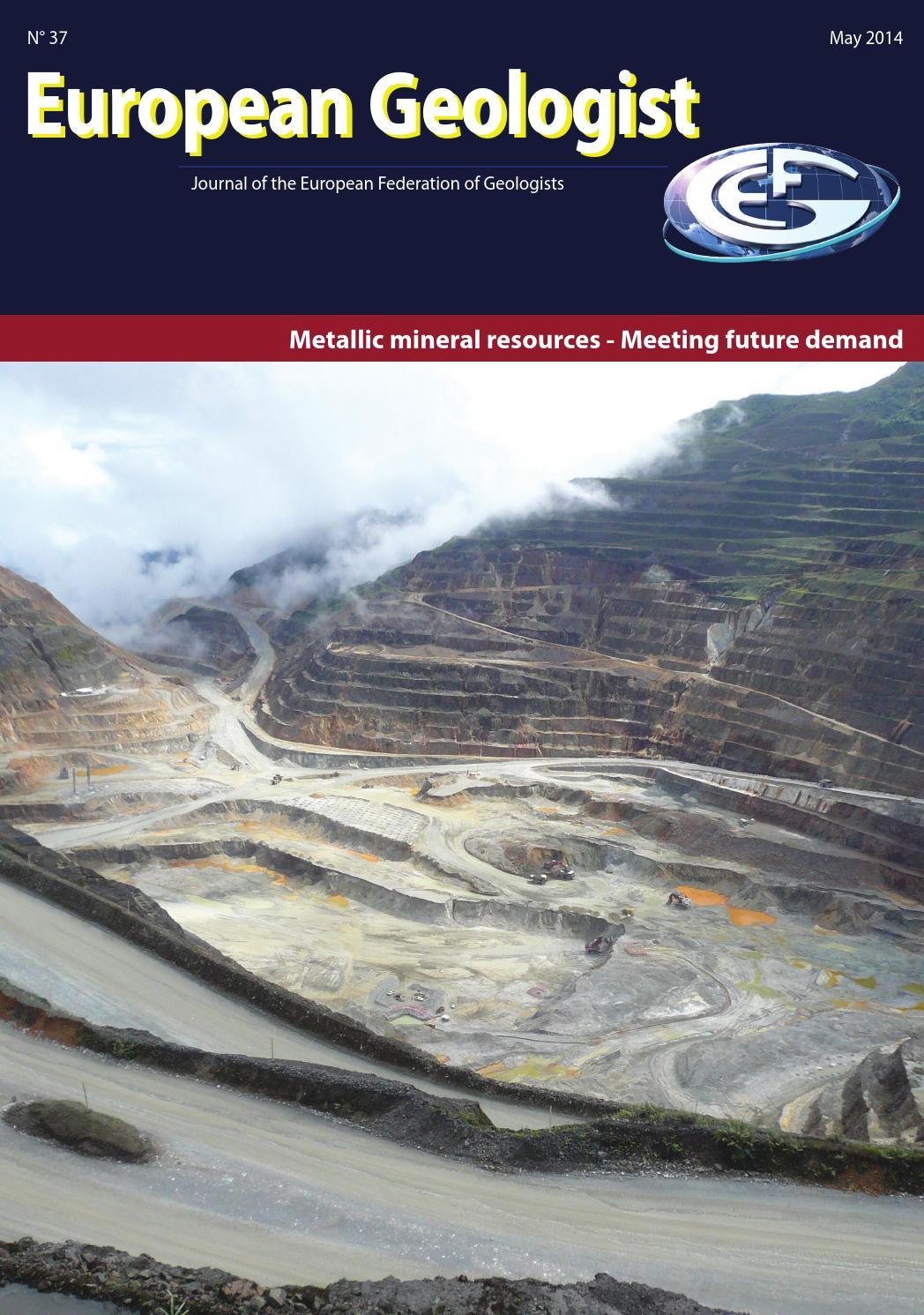 Egm 37 By European Federation Of Geologists Issuu