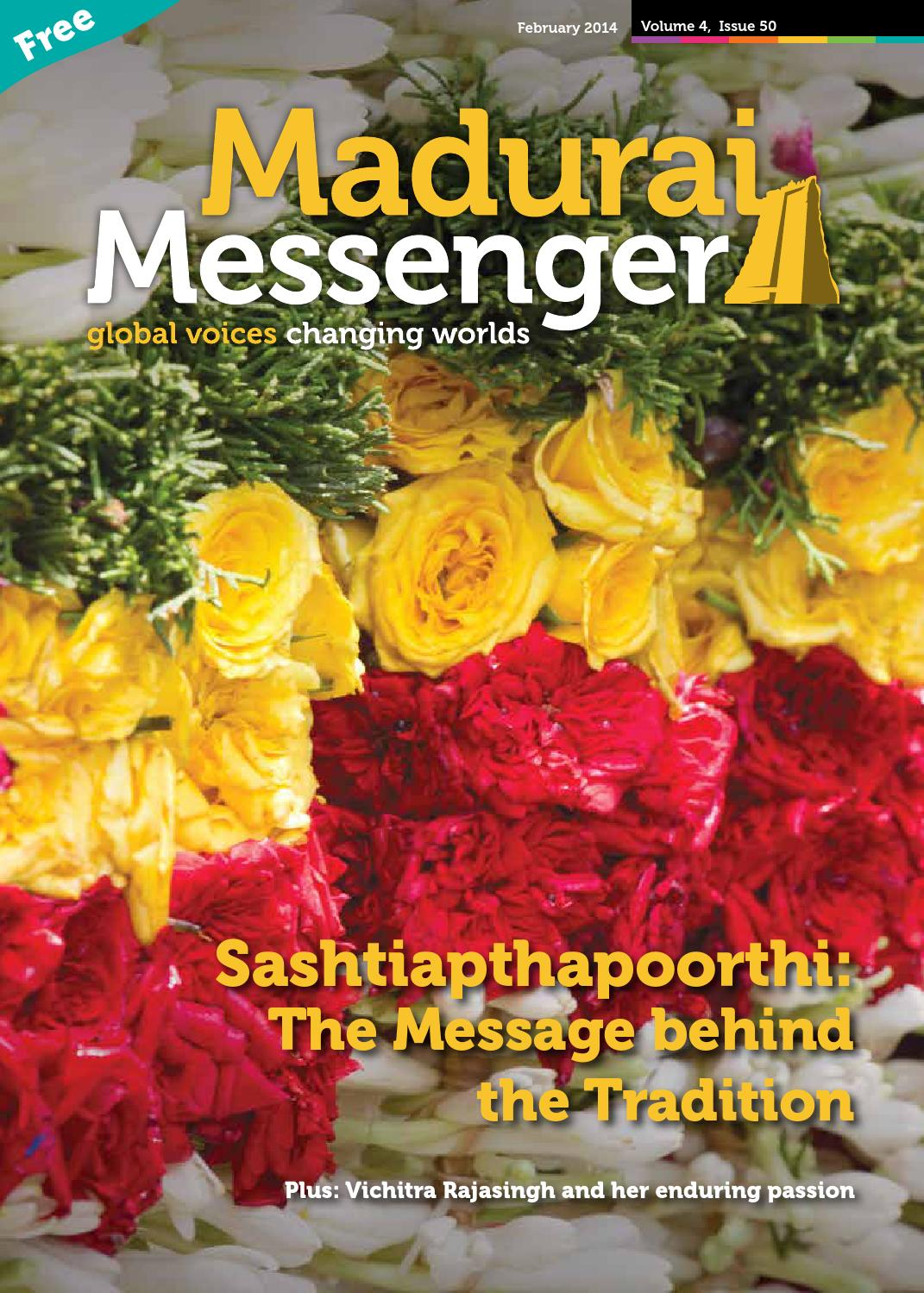 Maduraimessenger issue50 february lowres by Projects Abroad - issuu