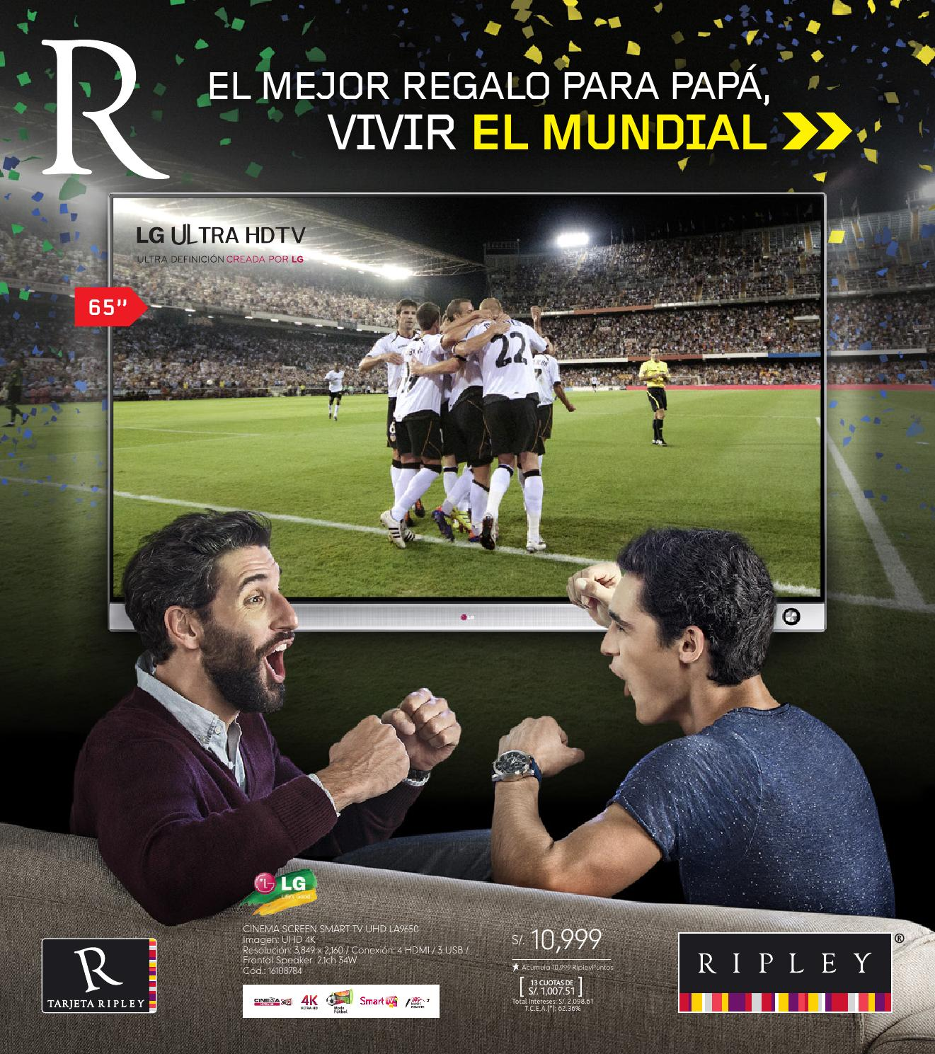 Me fascina mi papá- Especial Electro by Ripley Peru - issuu 4b8b373aca0cd