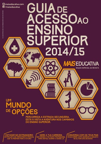 Guia de Acesso ao Ensino Superior 2014 15 by Young Direct Media - issuu 49e3453b6aee3