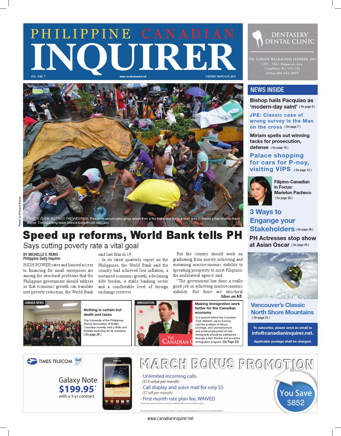 Philippine Canadian Inquirer Issue #7