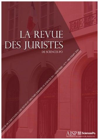 5f1c81d1cc7587 RJSP n°9 by La Revue des Juristes de Sciences Po - issuu