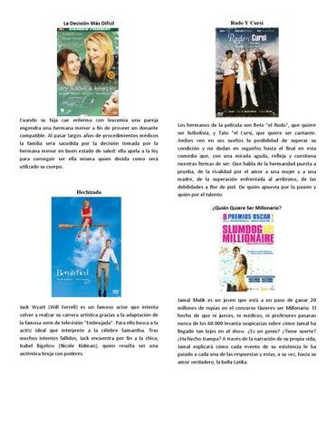 Catalogo de peliculas by Jebuz - issuu
