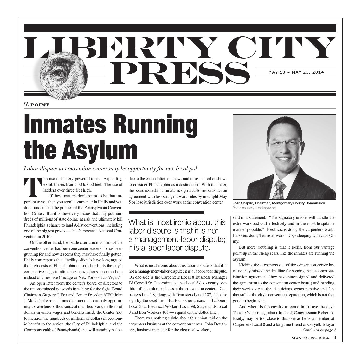 Liberty City Press Issue for May 18th-25th 2014 by Liberty