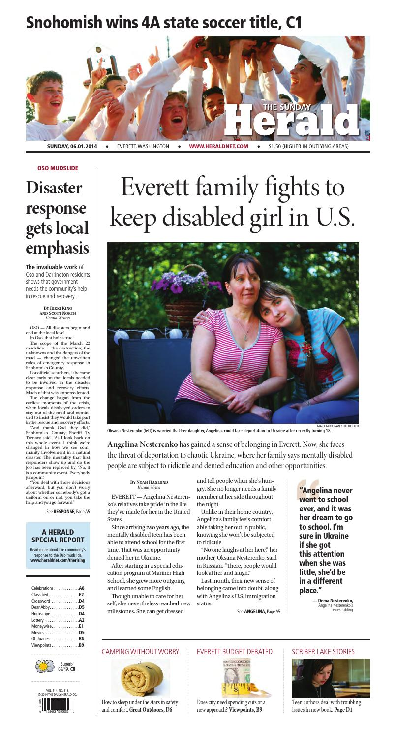 Everett Daily Herald, June 01, 2014 by Sound Publishing - issuu 69861ae761d9