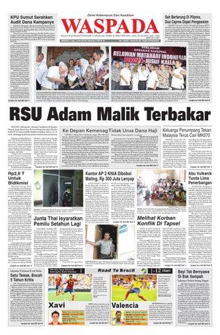 Minggu 1 juni 2014 by Harian Waspada - issuu 28445f473c