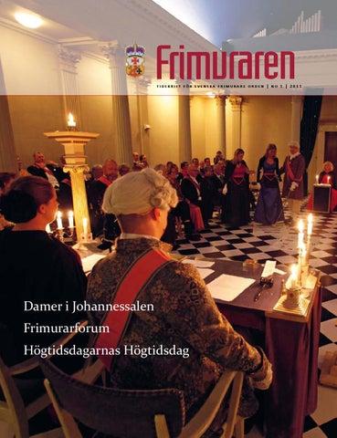 08fa298bf0a6 Frimuraren nummer 1 2011 by Svenska Frimurare Orden - issuu