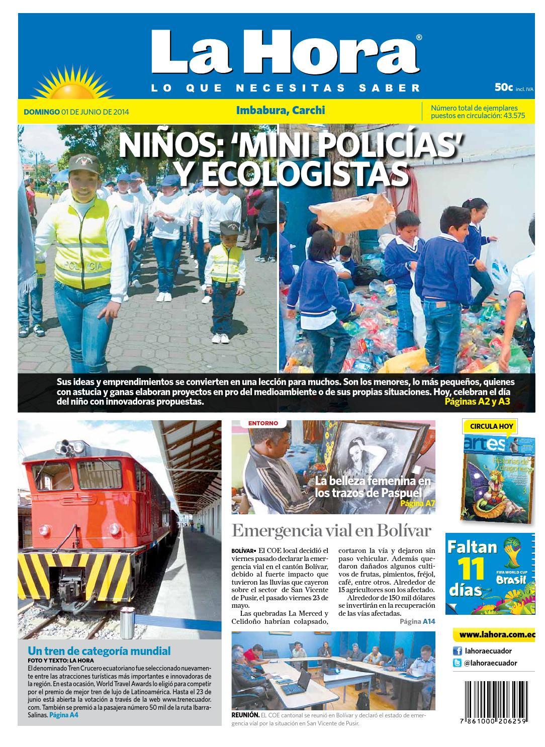 Edici N Impresa Imbabura Carchi Del 01 De Junio De 2014 By Diario  # Muebles Niza Cordoba Castro Barros