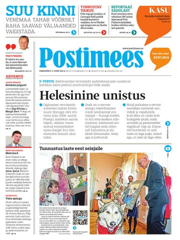 495e4b1eb6f Postimees 02 06 2014 by Postimees - issuu