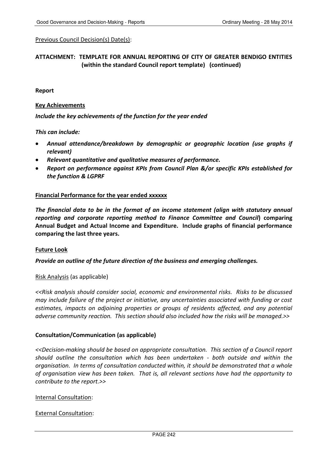 20140528 council minutes 28 may 2014 by City of Greater Bendigo - issuu
