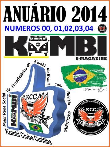Anuario 1 - 2014 kombi magazine edições nº 00 0349394a71b