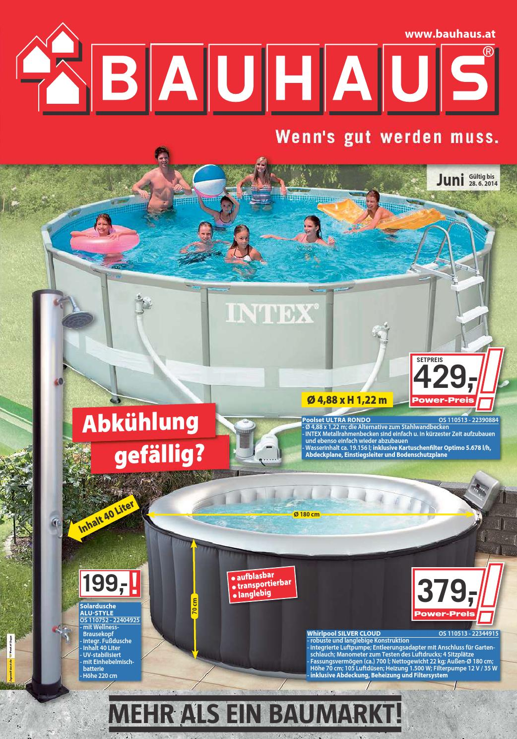 Baumax angebote 2 28juni2014 by issuu for Pool baumax