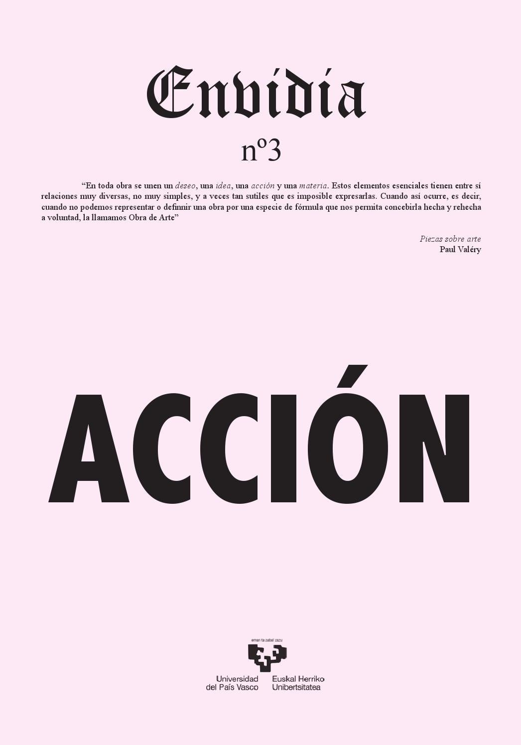 Enbidia nº3 accion by Iñaki Imaz - issuu