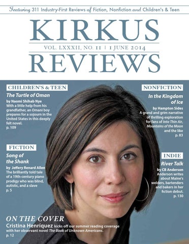June 01 2014 Volume Lxxxii No 11 By Kirkus Reviews Issuu